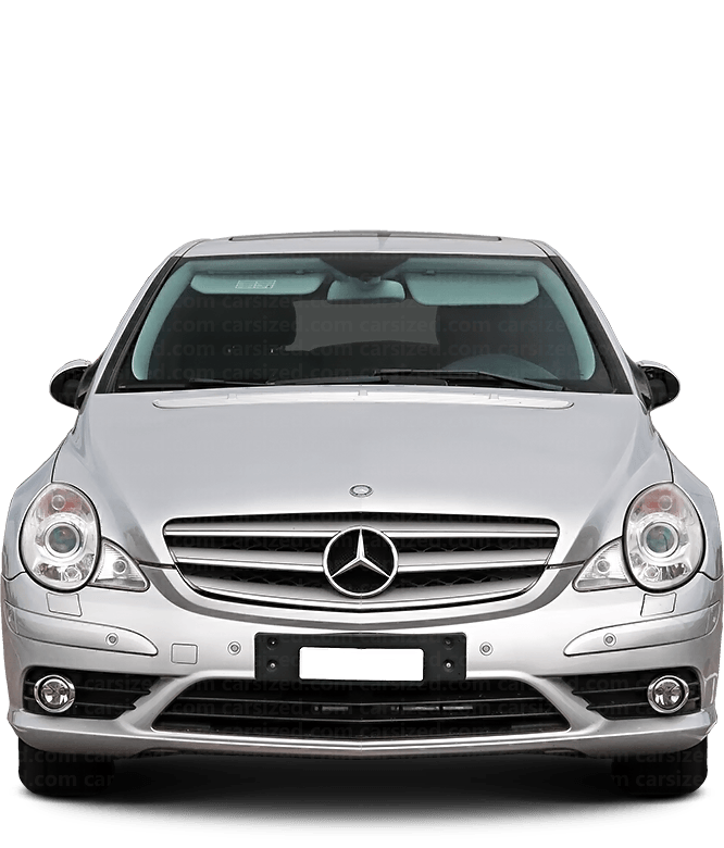 Mercedes-Benz R SUV 2005-2017 正面図
