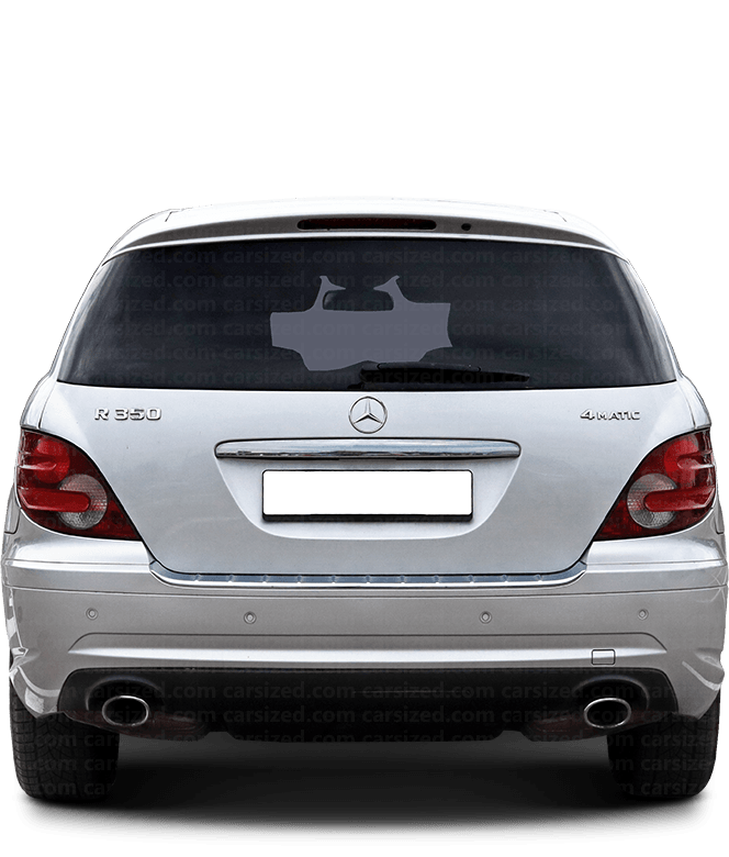 Mercedes-Benz R SUV 2005-2017 背面図