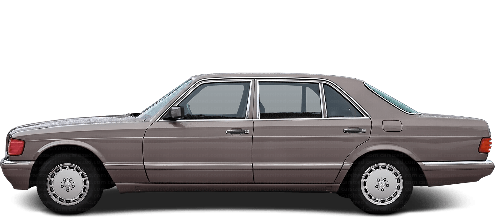 Mercedes-Benz S-Class Sedan LWB 1979 - 1981