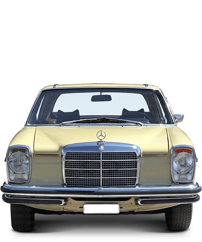 Mercedes-Benz W114 coupé 1968-1976 Front View