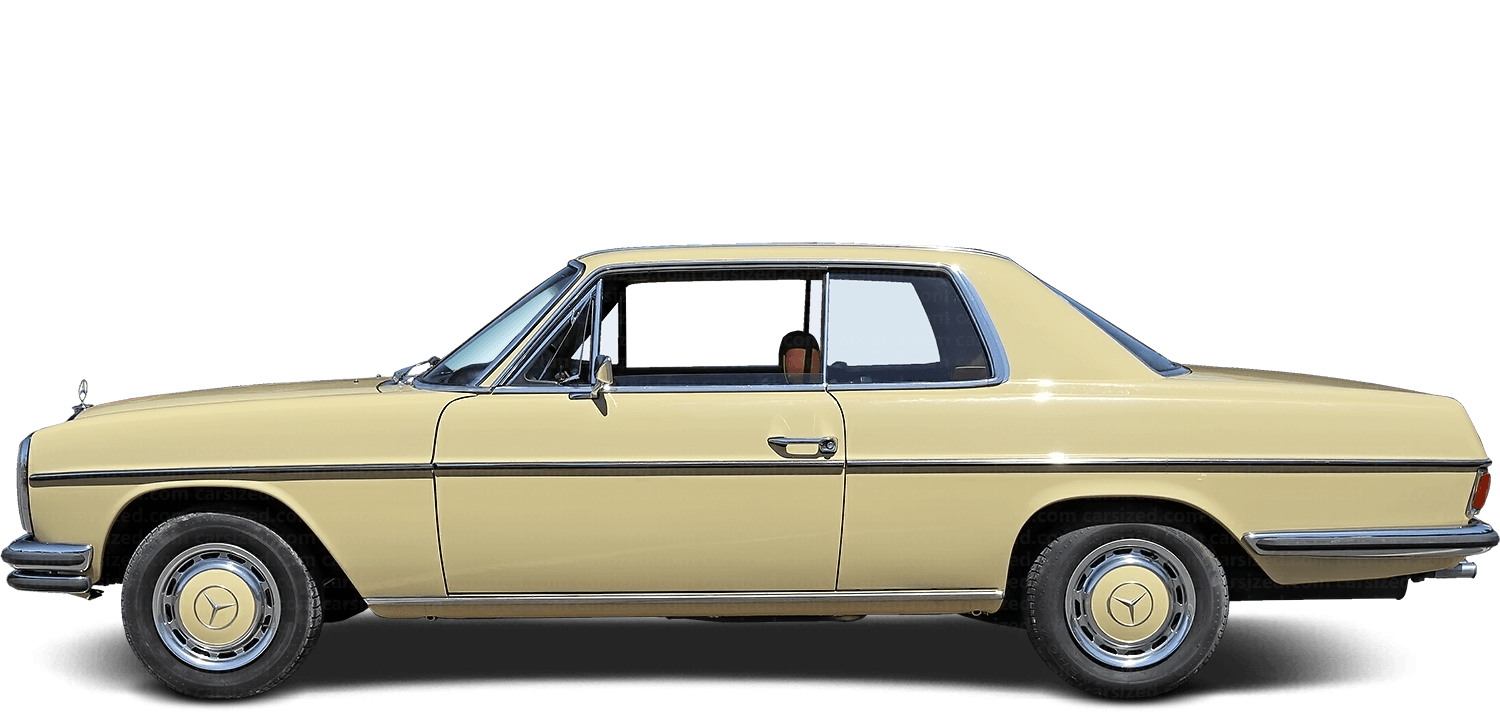 Mercedes-Benz W114 coupé 1968-1976