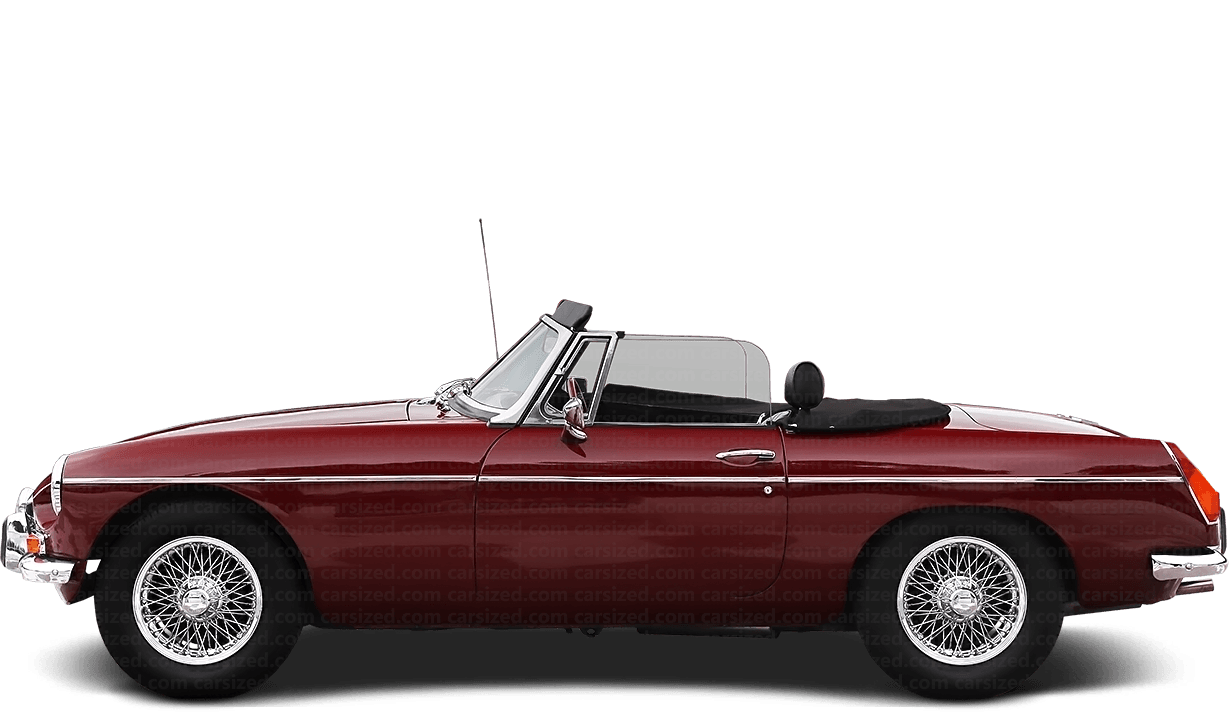 MG MGB Roadster 1962-1974 Side View