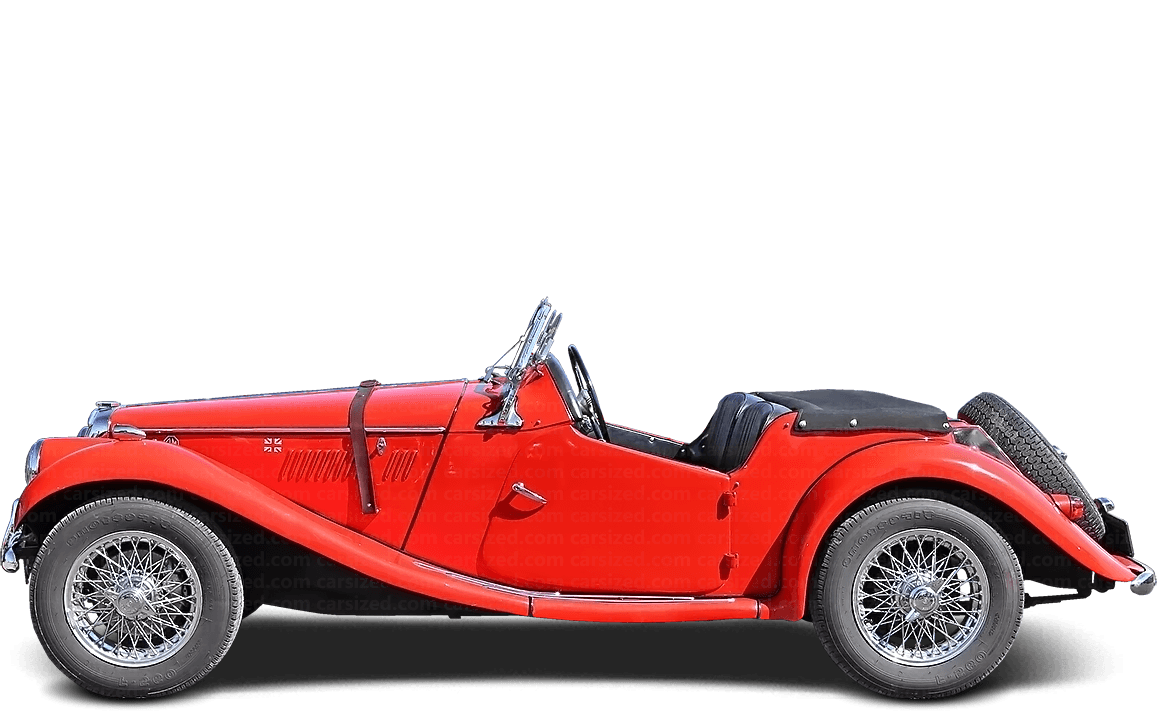 MG TF Roadster 1953-1955