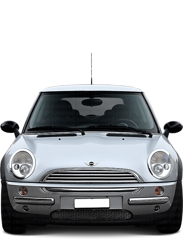 Mini Cooper Hatchback 2000-2004 Front View