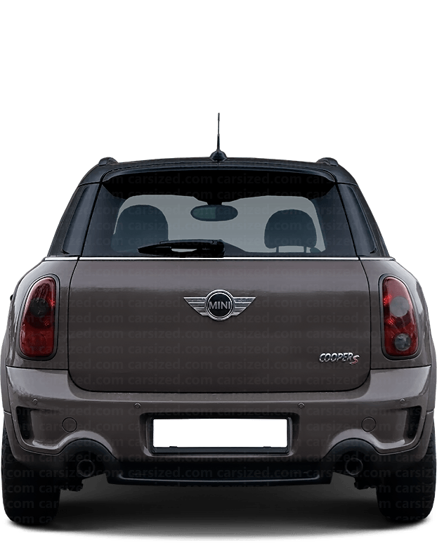Mini Countryman SUV 2010-2016 Rear View