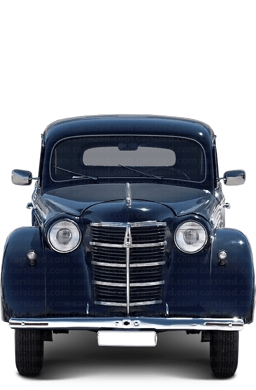 Moskvitch 400 Sedan 1946-1954 Front View
