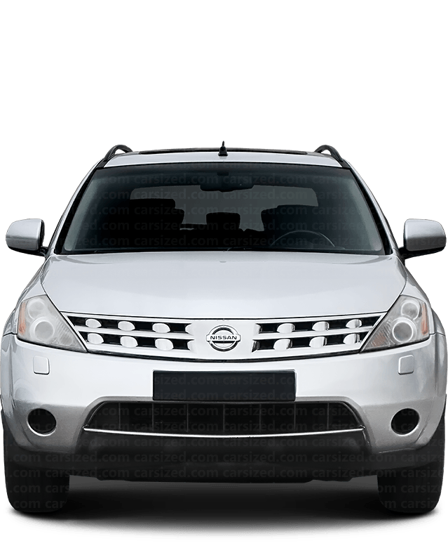 Nissan Murano SUV 2002-2007 Front View