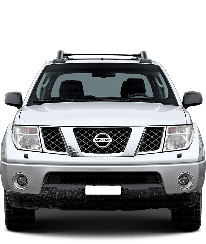Nissan Navara Pick-up 2004-2014 Front View