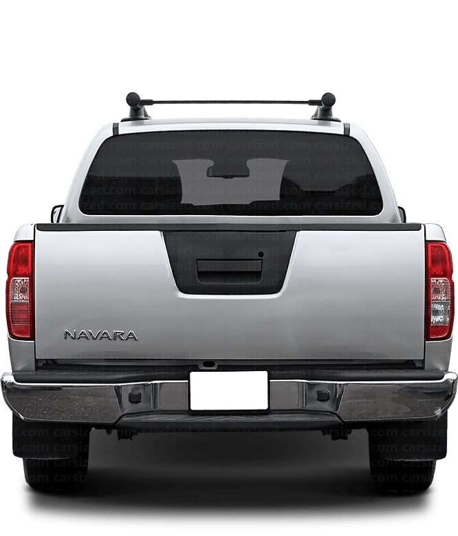 Nissan Navara Pick-up 2004-2014 Rear View