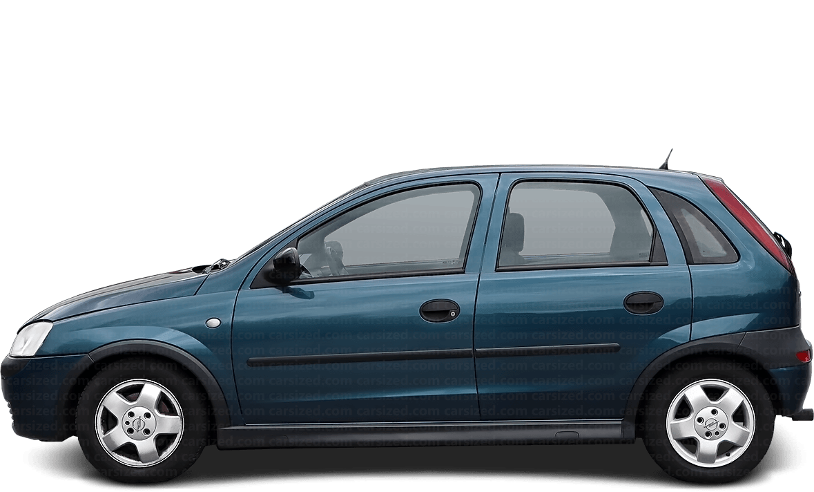 Opel Corsa 5-door Hatchback  2000 - 2006