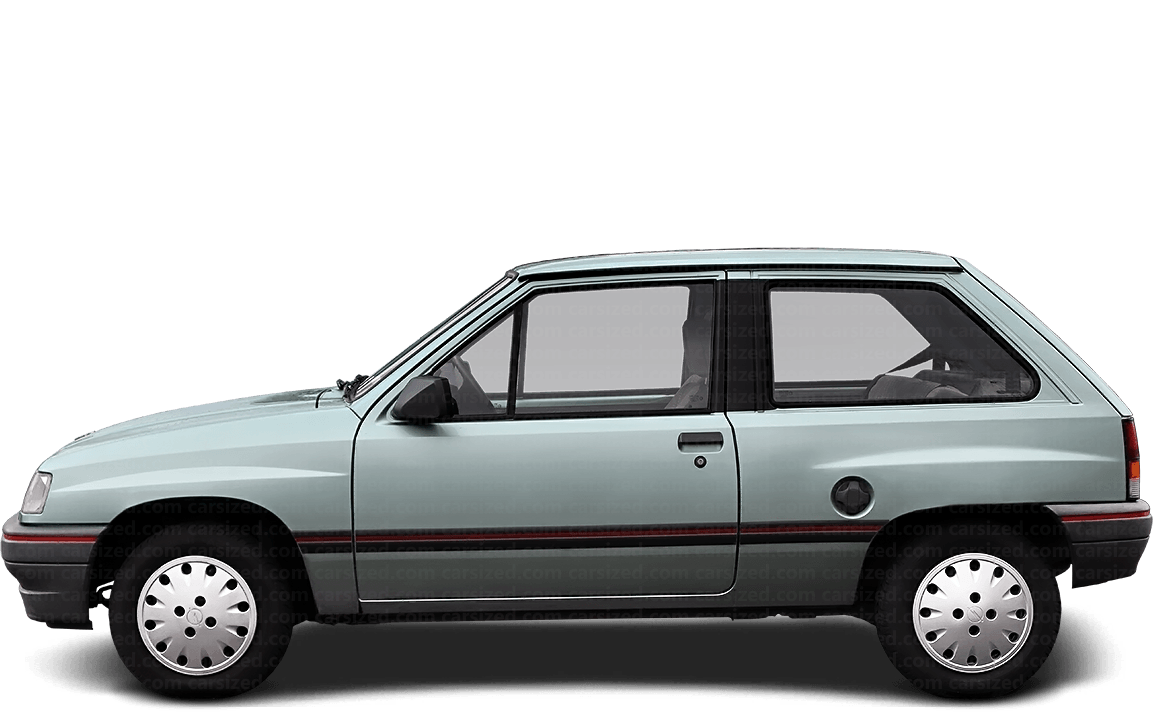 Opel Corsa 3-door Hatchback  1990 - 1993