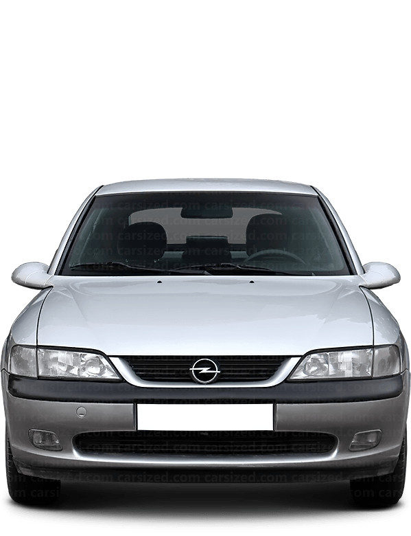 Opel Vectra Hatchback 1995-2002 Front View