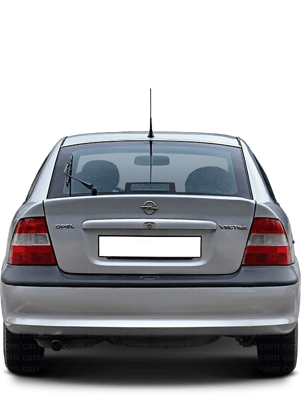 Opel Vectra Hatchback 1995-2002 Rear View