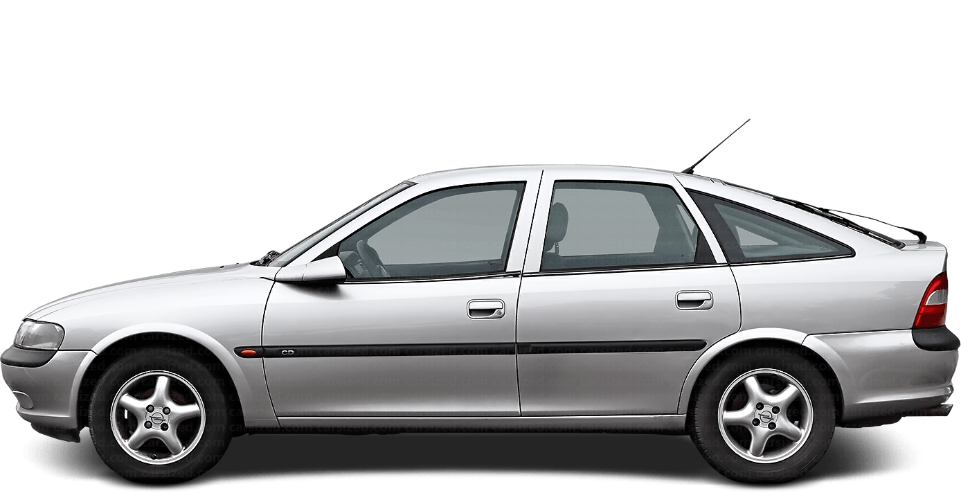 Opel Vectra Hatchback 1995-2002 Side View