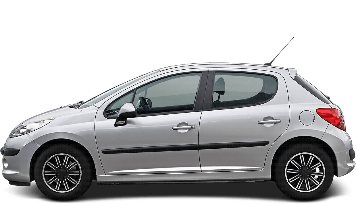 Peugeot 207 5-door Hatchback  2006 - 2014