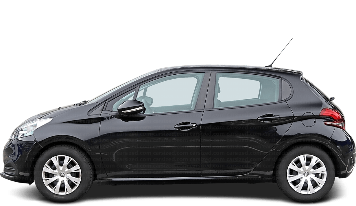 Peugeot 208 5-door Hatchback  2012 - 2019