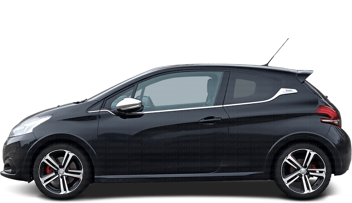 Peugeot 208 3-door Hatchback  2012 - 2019