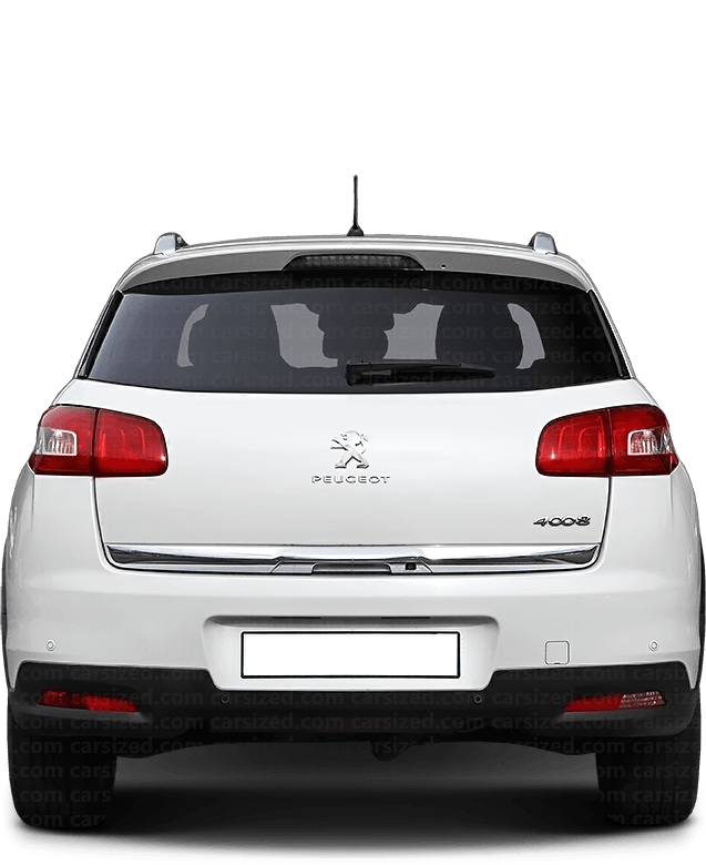 Peugeot 4008 SUV 2012-2017 Rear View