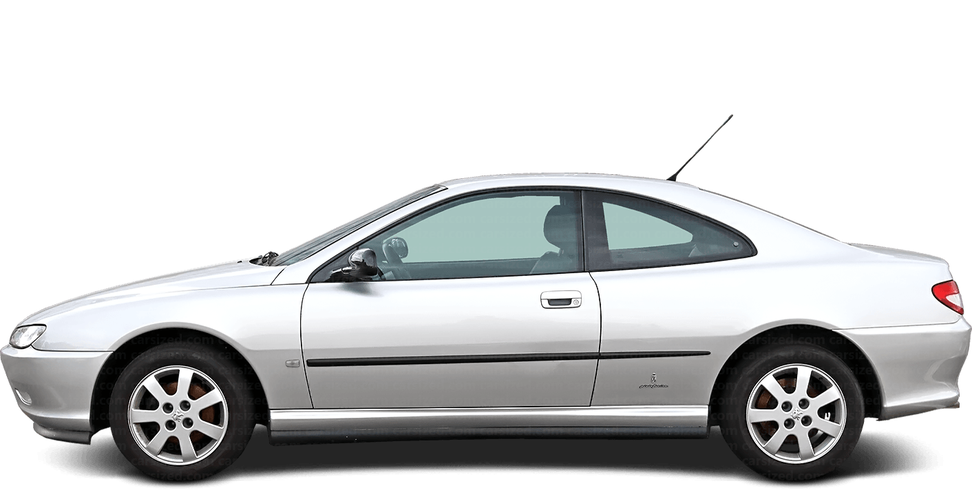 Peugeot 406 2-door Coupé  1995 - 2008