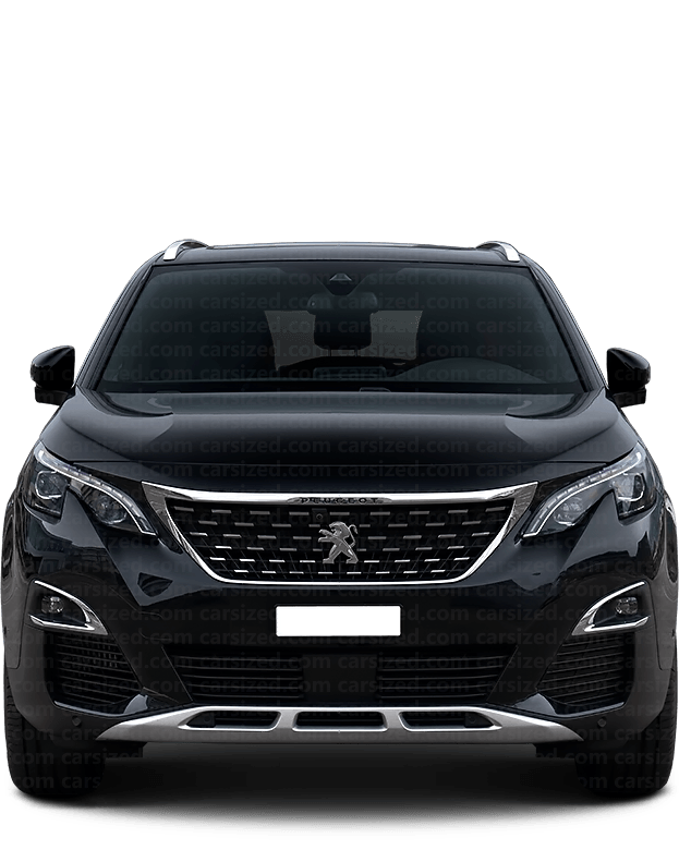 Peugeot 5008 SUV 2017-present Front View