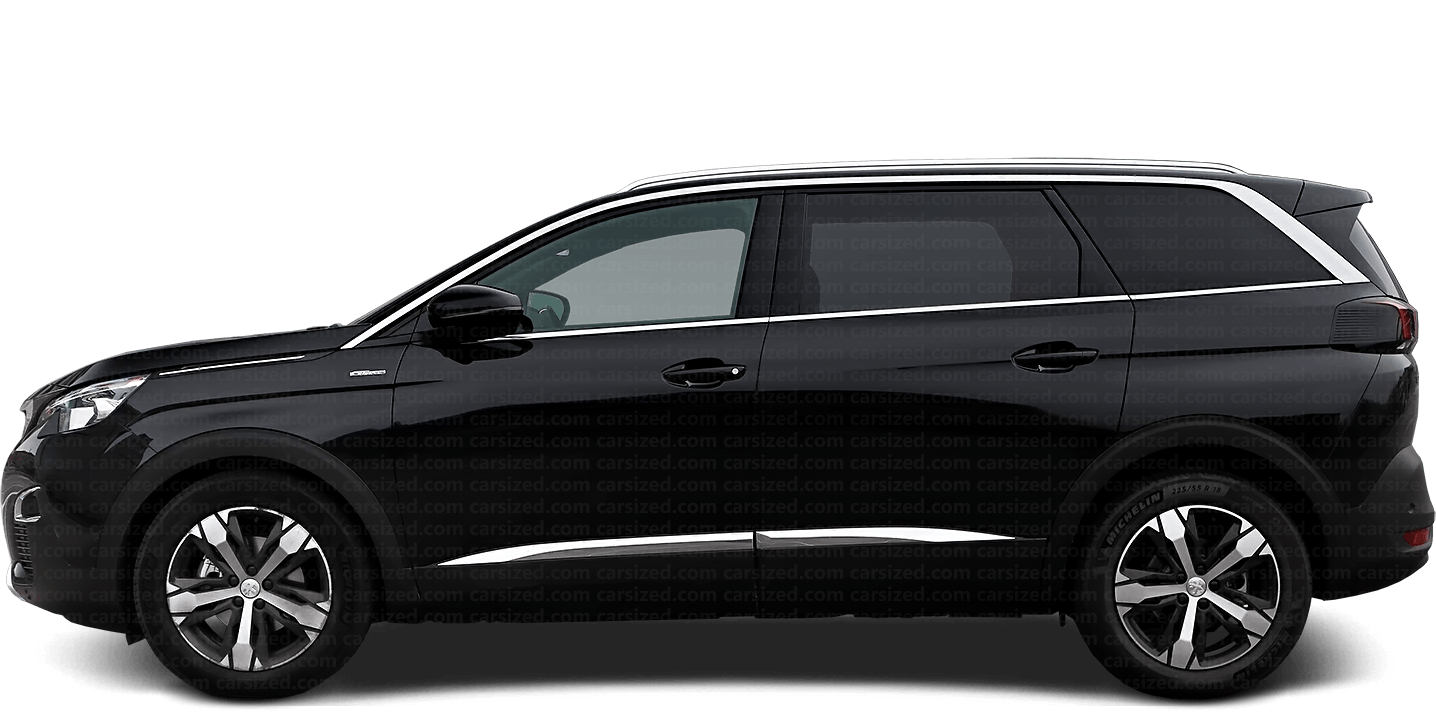 Peugeot 5008 SUV 2017-present Side View