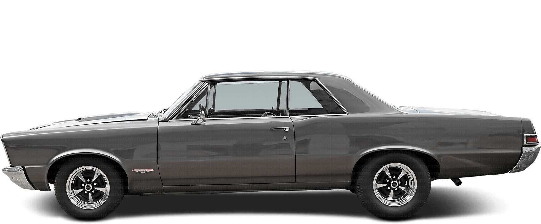 Pontiac GTO coupé 1964-1967 Side View