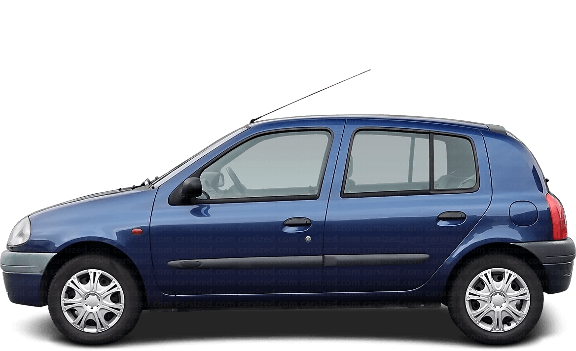 Renault Clio 5-door Hatchback  1998 - 2002