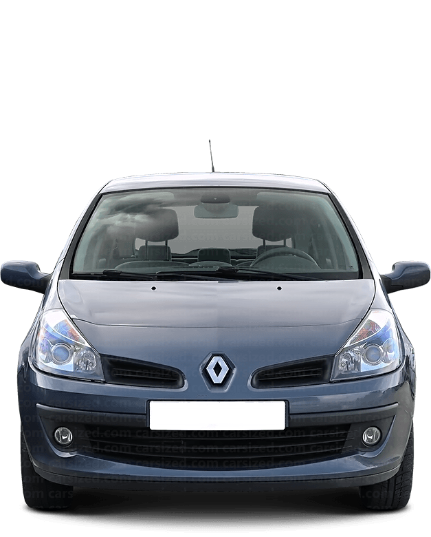 Renault Clio Hatchback 2005-2009 Front View