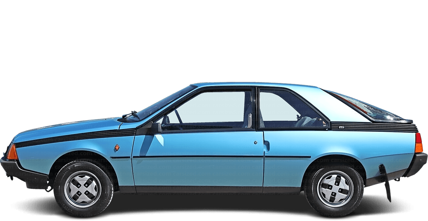 Renault Fuego 3-door Liftback  1980 - 1992