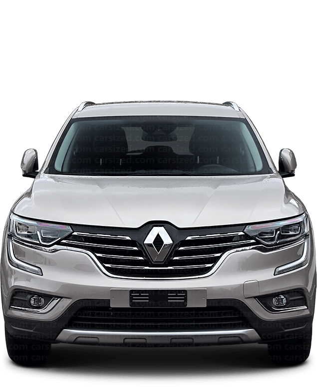 Renault Koleos SUV 2016-present Front View