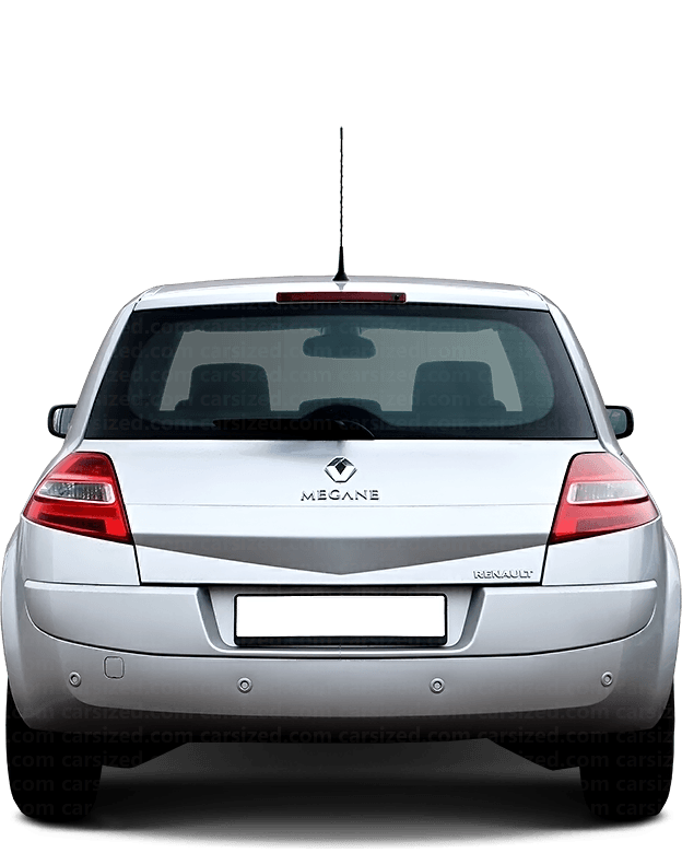 Renault Megane Hatchback 2002-2009 Rear View