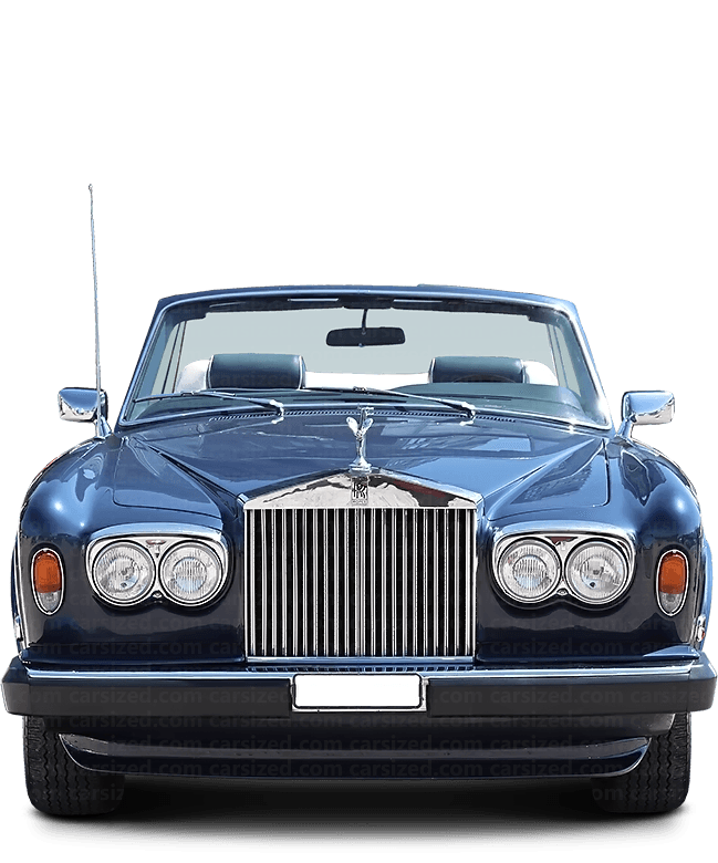Rolls-Royce Corniche Cabriolet 1992-1995 Front View