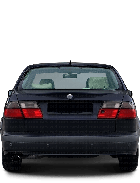 Saab 9-5 Sedan 1997-2001 Rear View