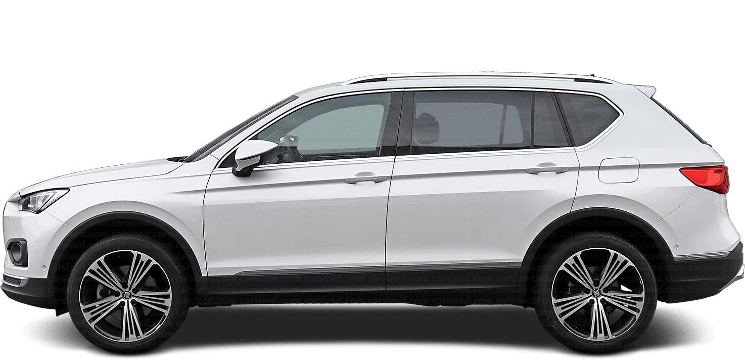 Seat Tarraco SUV 2018-present Side View