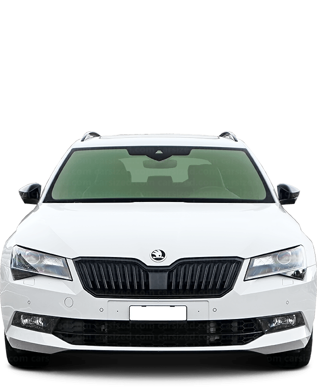 Skoda Superb Estate 2015-present Front View