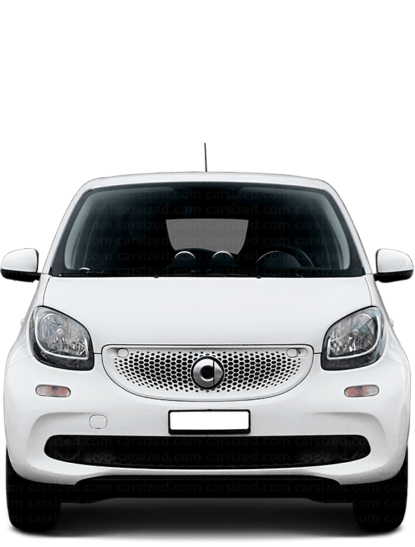 Smart Forfour Hatchback 2014-2019 Front View