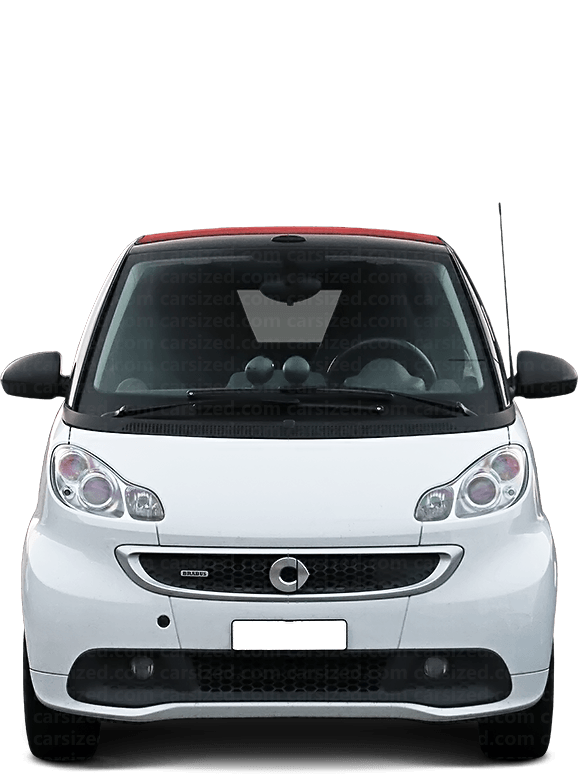 Smart ForTwo Cabriolet 2007-2010 Front View