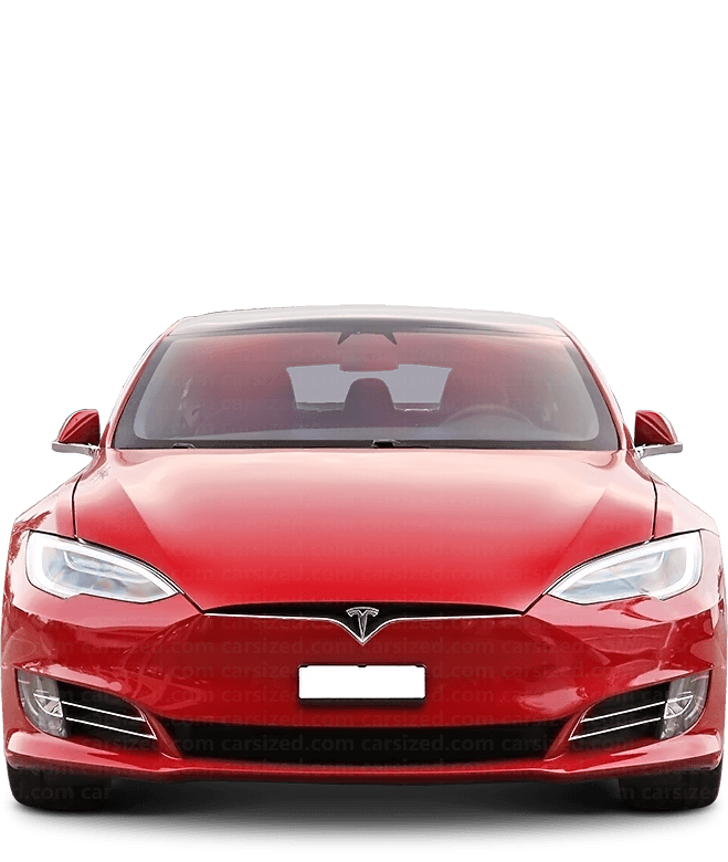 Tesla Model S Liftback 2012-present Front View