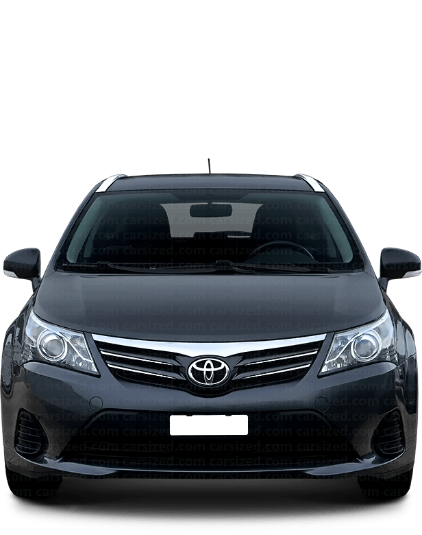 Toyota Avensis Estate 2012-2015 Front View