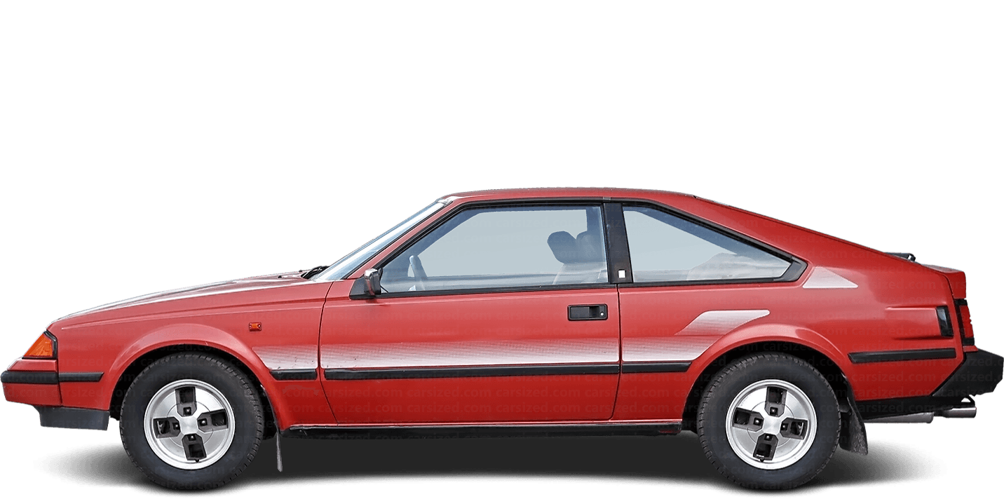 Toyota Celica Liftback 1981-1985 Side View