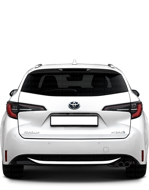 Toyota Corolla Estate 2018-present Rear View