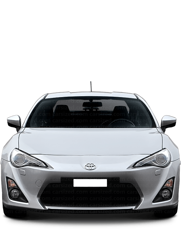 Toyota GT 86 coupé 2012-present Front View