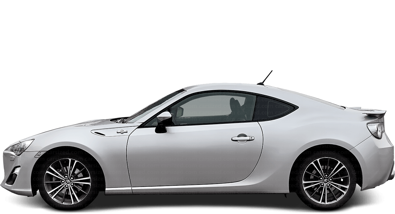 Toyota GT 86 coupé 2012-present Side View
