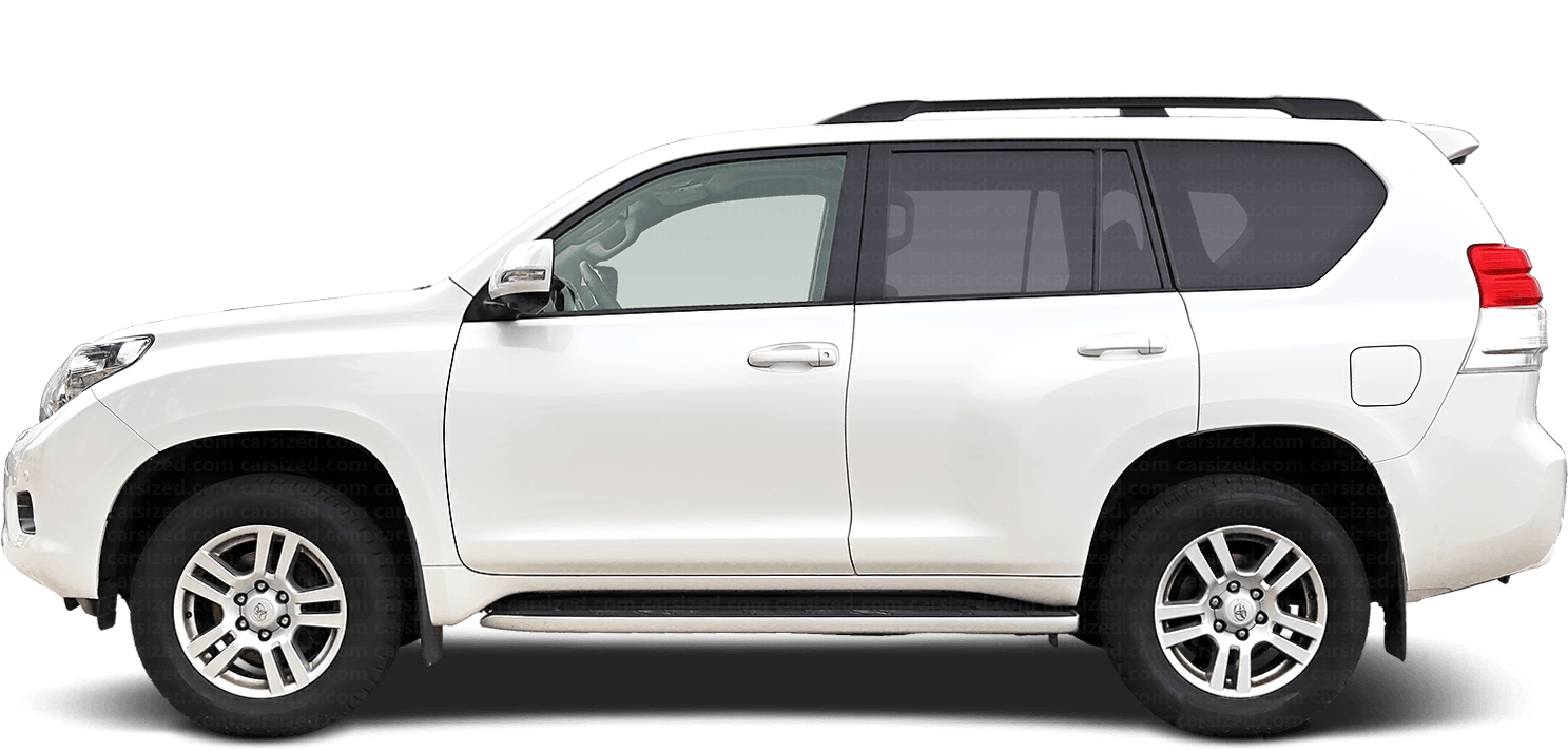 Toyota Land Cruiser Prado SUV 2009-present Side View