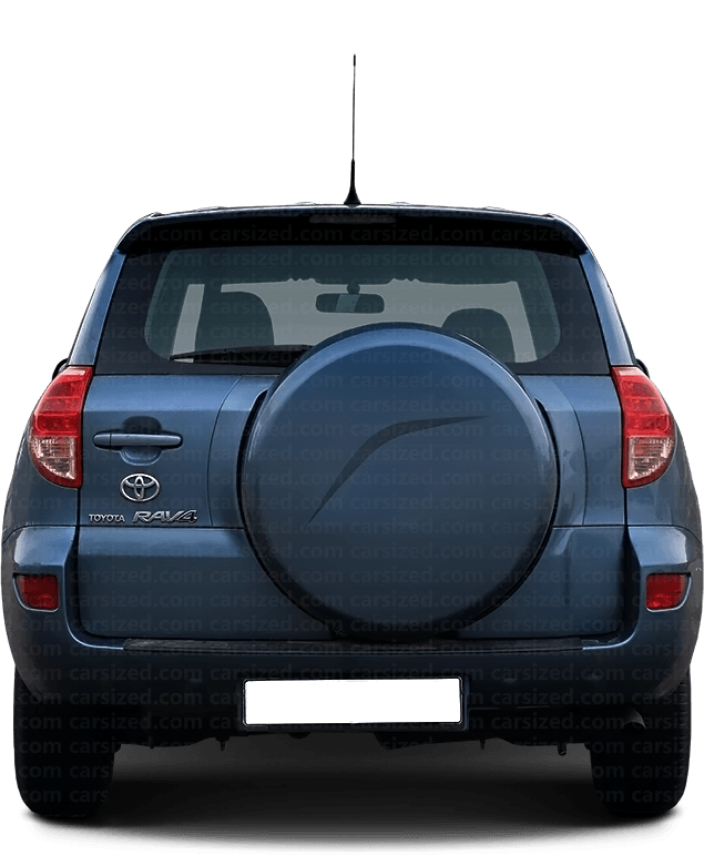 Toyota RAV4 SUV 2005-2012 Rear View