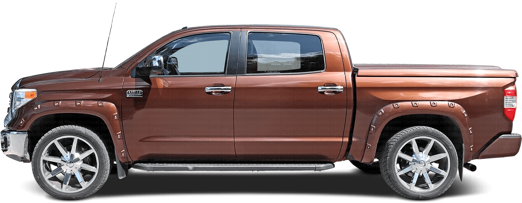 Toyota Tundra pick-up 2014-present Side View