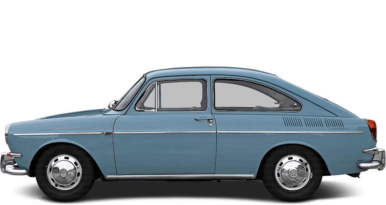 Volkswagen 1600 2-door Coupé Fastback 1961 - 1973