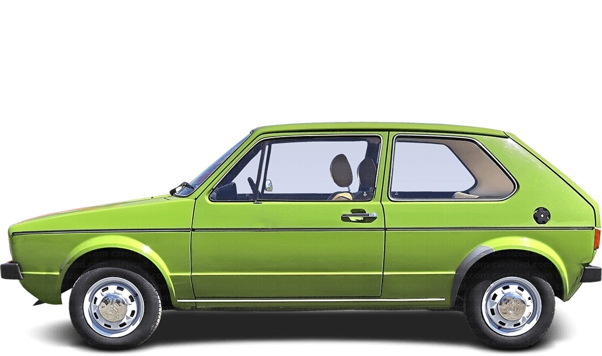 Volkswagen Golf 3-door Hatchback  1974 - 1983