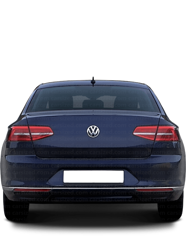 Volkswagen Passat Sedan 2014-present Rear View