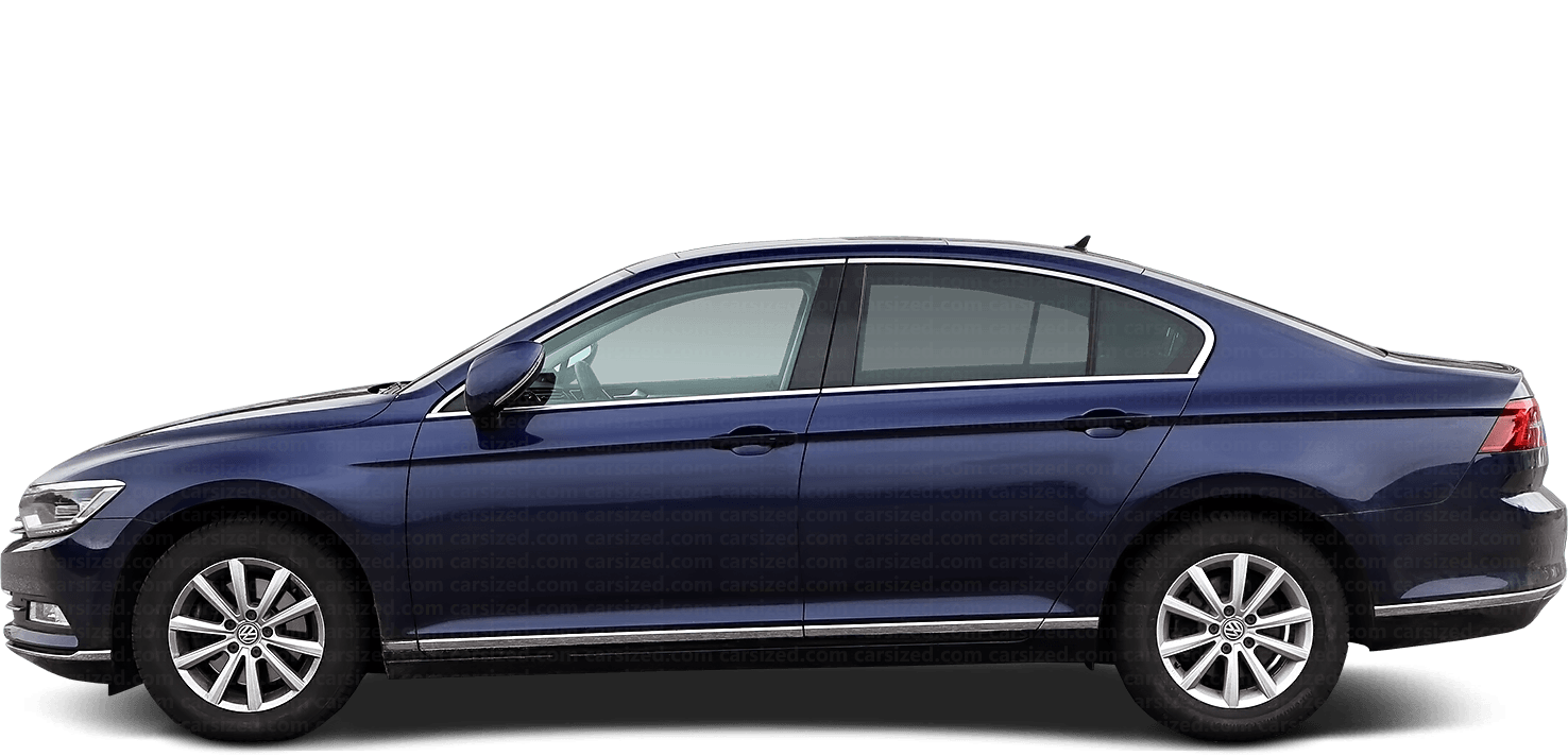 Volkswagen Passat Sedan 2014-present Side View